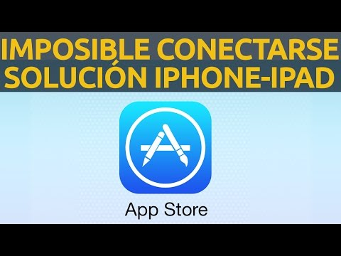 Imposible conectarse a App Store solución iPhone iPad iTunes Store mac 2020