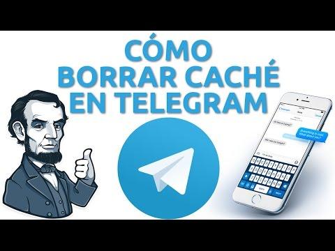Elimina archivos en Telegram de su caché para tener más espacio