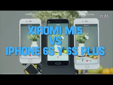 Xiaomi Mi5 vs iPhone 6s y 6s plus estabilizador imagen y video Test cámara
