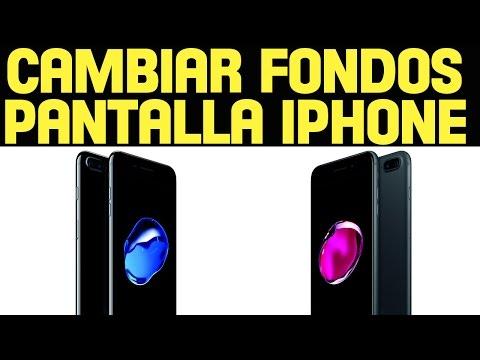 Cómo cambiar fondos pantalla iPhone y iPad. Descarga gratis mejores wallpapers español full HD 2021