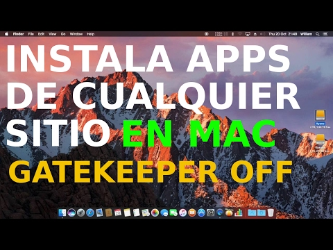 Cómo permitir descargar instalar aplicaciones de origen desconocido en Mac OS de terceros 2020