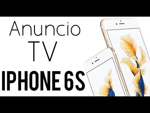Anuncio TV iPhone 6S en Español (España)