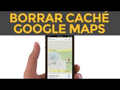 Cómo borrar la cache de Google Maps en iPhone, iPad liberar espacio y memoria en 2021
